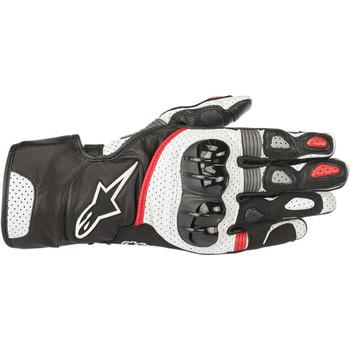 Alpinestars SP-2 V2 Gloves - Black/White/Red