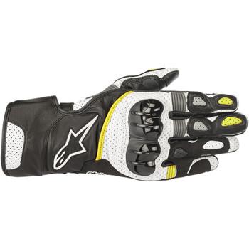 Alpinestars SP-2 V2 Gloves - Black/White/Yellow