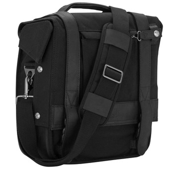 Burly Voyager Saddlebag - Black