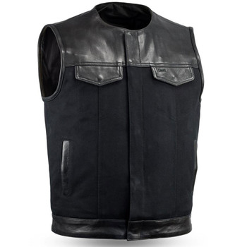 First Mfg. 49/51 Collarless Vest