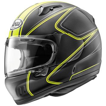 Arai Defiant-X Diablo Helmet - Yellow Frost