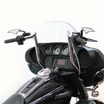 "Paul Yaffe Bagger Nation 14"" Monkey Bagger Bars for 1986-2018 Harley Touring - Black"