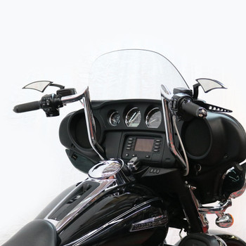 "Paul Yaffe Bagger Nation 12"" Monkey Bagger Bars for 1986-2018 Harley Touring - Black"