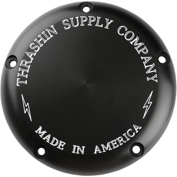Thrashin Supply Derby Cover for 1999-2018 Harley* - Black