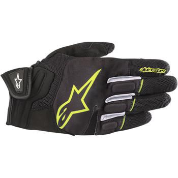 Alpinestars Atom Gloves - Black/Yellow