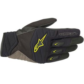 Alpinestars Shore Gloves - Black/Yellow