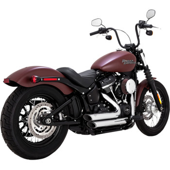 Vance & Hines Shortshots Staggered Exhaust for 2018-2020 Harley Softail - Chrome