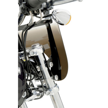 Memphis Shades Batwing Fairing Trigger Lock Mounting Kit for 1999-2017 Harley Road King - Black