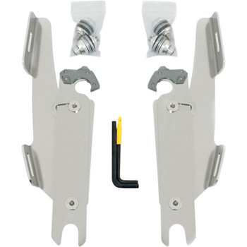 Memphis Shades Batwing Fairing Trigger Lock Mounting Kit for 1999-2017 Harley Softail