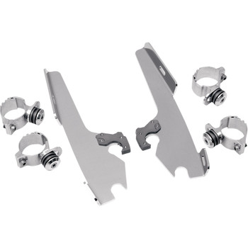 Memphis Shades Batwing Fairing Trigger Lock Mounting Kit for 1999-2017 Harley Dyna