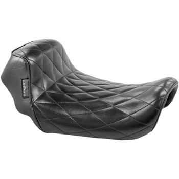 LePera Diamond Sprocket Solo Seat for 2006-2017 Harley Dyna