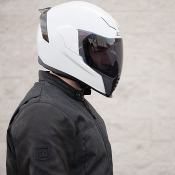 Icon Airflite Light Smoke Face Shield