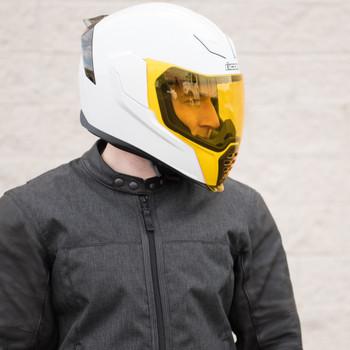 Icon Airflite Yellow Face Shield