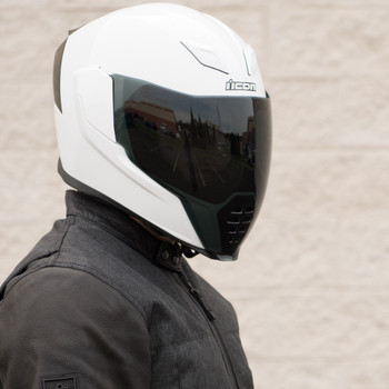Icon Airflite Dark Smoke Face Shield