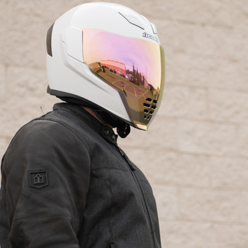 Icon Airflite RST Purple Face Shield