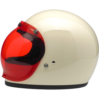 Biltwell Anti-Fog Bubble Shield - Rose