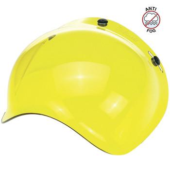 Biltwell Anti-Fog Bubble Shield - Yellow