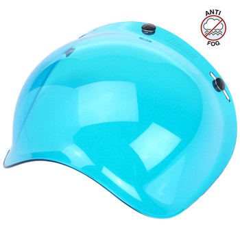Biltwell Anti-Fog Bubble Shield - Blue