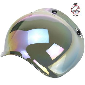 Biltwell Anti-Fog Bubble Shield - Rainbow Mirror