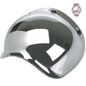 Biltwell Anti-Fog Bubble Shield - Chrome Mirror