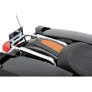 Drag Specialties Fender Bib for 1997-2018 Harley Touring - Brown/Black