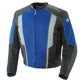 Joe Rocket Phoenix 5.0 Mesh Jacket - Blue/Black
