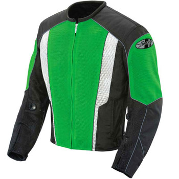 Joe Rocket Phoenix 5.0 Mesh Jacket - Green/Black