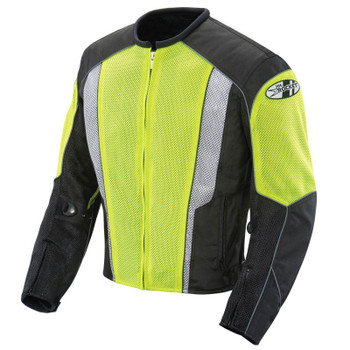 Joe Rocket Phoenix 5.0 Mesh Jacket - Neon/Black