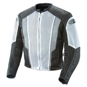 Joe Rocket Phoenix 5.0 Mesh Jacket - White/Black