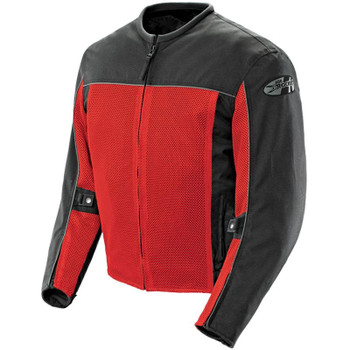 Joe Rocket Velocity Mesh Jacket - Red/Black