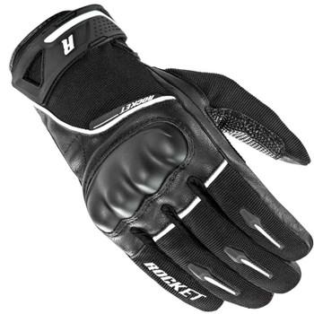 Joe Rocket Super Moto Gloves - Black/White