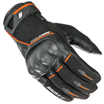 Joe Rocket Super Moto Gloves - Black/Orange