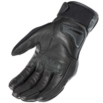 Joe Rocket Super Moto Gloves - Black/Hi-Viz