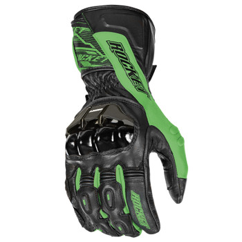 Joe Rocket Flexium TX Gloves - Black/Green