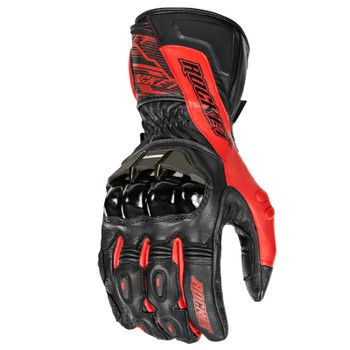 Joe Rocket Flexium TX Gloves - Black/Red