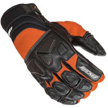 Joe Rocket Atomic X Gloves - Black/Orange