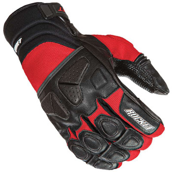 Joe Rocket Atomic X Gloves - Black/Red