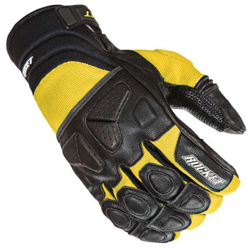 Joe Rocket Atomic X Gloves - Black/Yellow