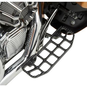 Joker Machine Serrated Floorboards for Harley - Black