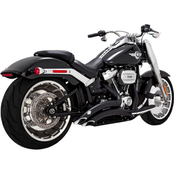 Vance & Hines Big Radius Exhaust for 2018-2020 Harley Softail Breakout and Fat Boy - Black