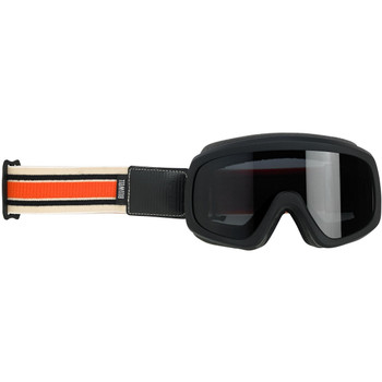 Biltwell Overland 2.0 Racer Goggle - Black/Cream/Orange