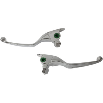 Drag Specialties Wide Blade Lever Set for 2017-2018 Harley Touring - Chrome