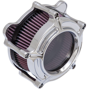 Roland Sands Clarion Air Cleaner for 2008-2017 Harley Twin Cam Electronic Throttle - Chrome