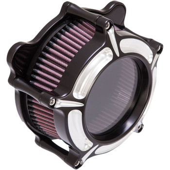 Roland Sands Clarion Air Cleaner for 1993-2017 Harley Big Twin Dual Cable - Contrast Cut
