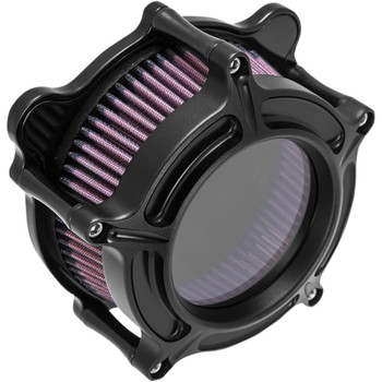 Roland Sands Clarion Air Cleaner for 1993-2017 Harley Big Twin Dual Cable - Black Ops