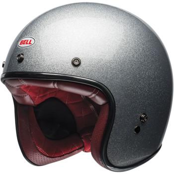Bell Custom 500 Gloss Silver Flake Helmet