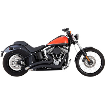 Vance & Hines Big Radius Exhaust for 1986-2017 Harley Softail - Black