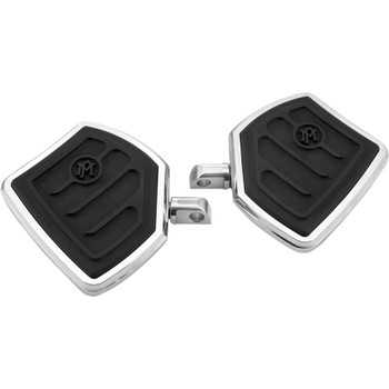 Performance Machine Contour Mini Floorboards Foot Pegs for Harley - Chrome