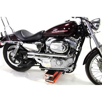 V-Twin Mfg. Shotgun Style Exhaust for 2004-2018 Harley Sportster - Chrome