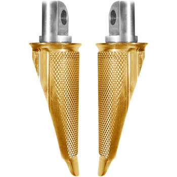 Speed Merchant Speed Pegs Foot Pegs for Harley - Gold